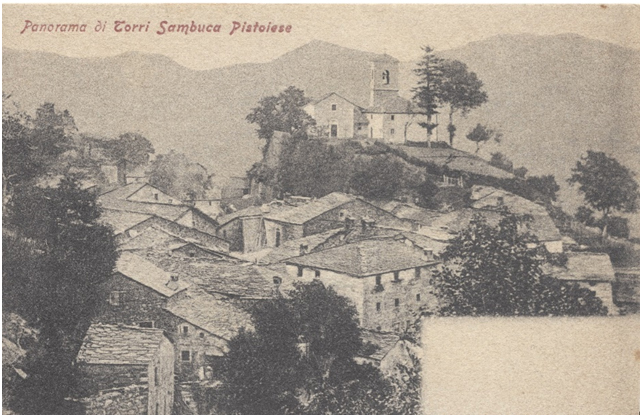 Torri in una cartolina dei primi anni del Novecento